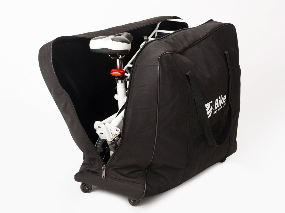 folding bike bag e bike accessories travel bags geobike. Black Bedroom Furniture Sets. Home Design Ideas