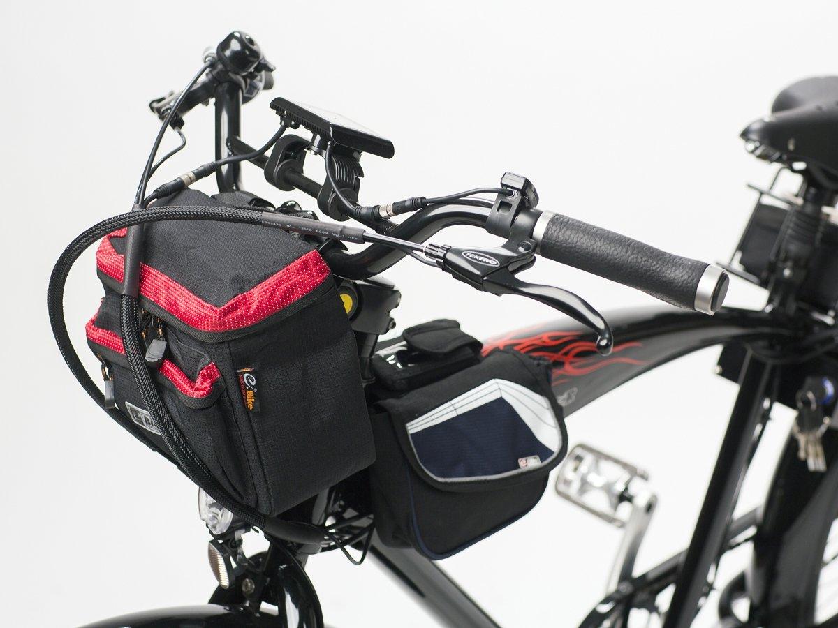 handlebar bag e bike red accessories e bike bike bags handlebar bags geobike. Black Bedroom Furniture Sets. Home Design Ideas
