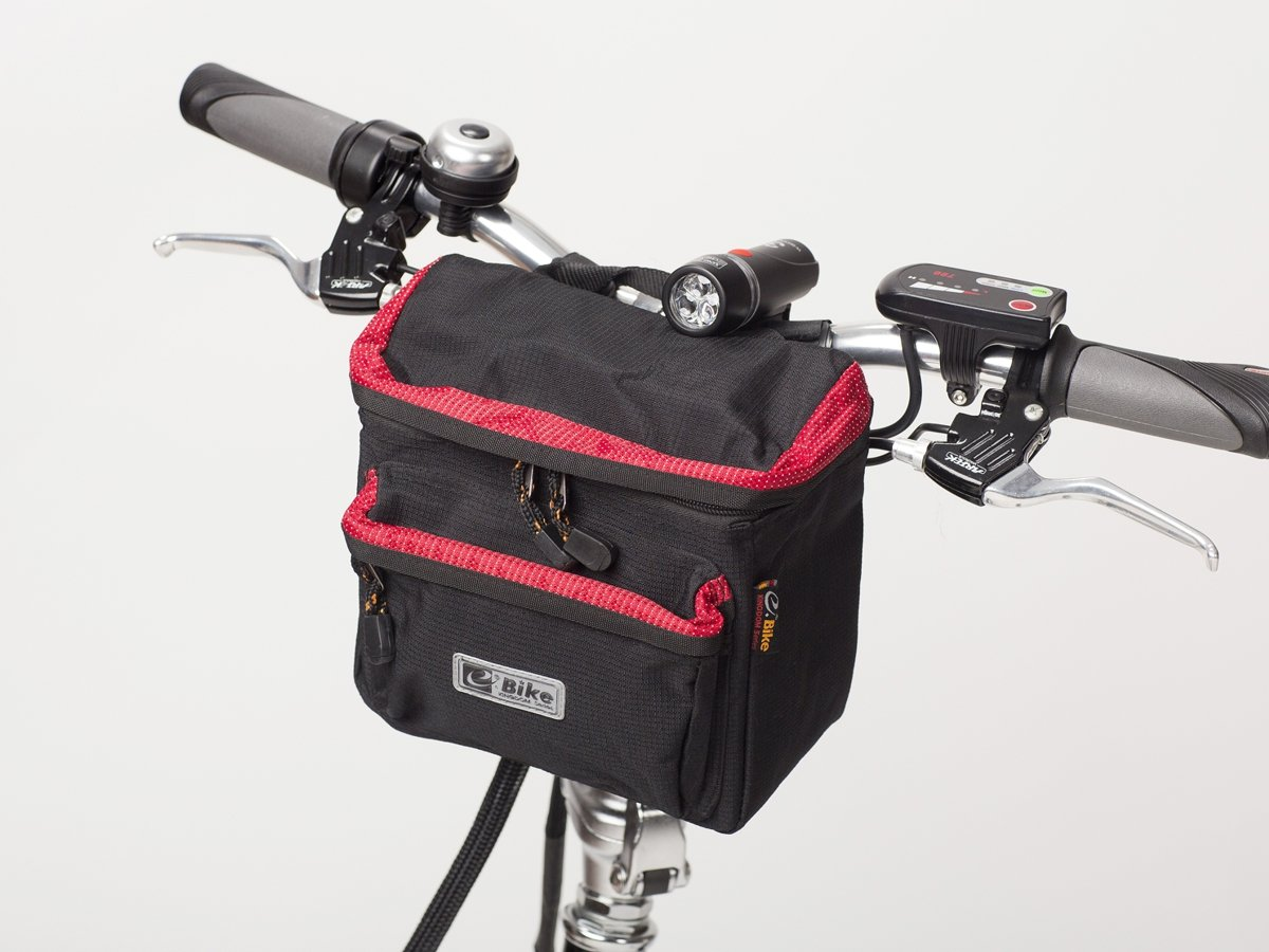 handlebar bag e bike red accessories e bike bike. Black Bedroom Furniture Sets. Home Design Ideas