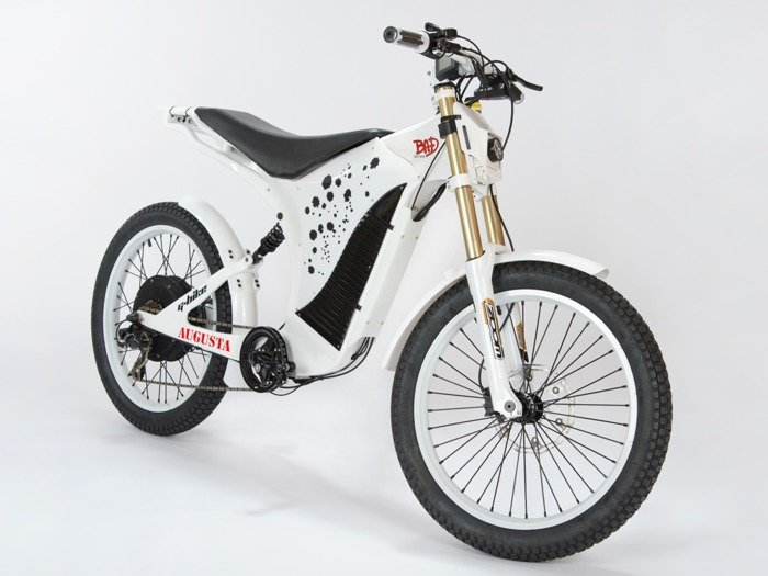 electric bicycle AUGUSTA 72 V 3000 W / white