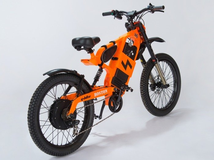 electric bicycle BOSTON 60 V 2000 W / orange