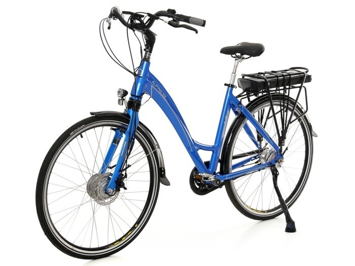 electric city bicycle GEOBIKE Alpino SX / battery 10 Ah