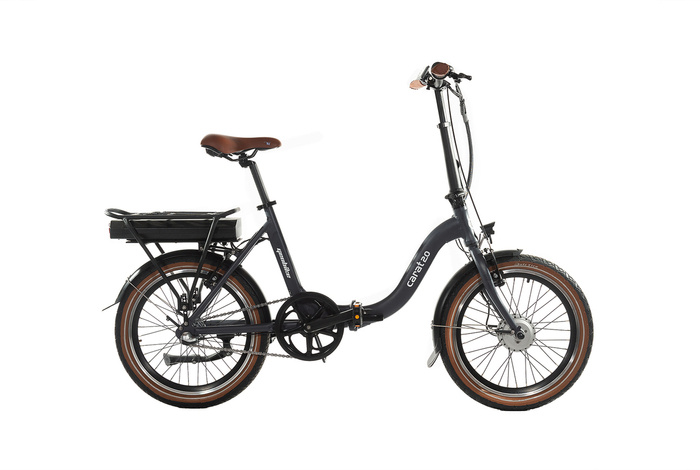 electric folding bicycle GEOBIKE Carat 2.0 / battery 10.4 Ah
