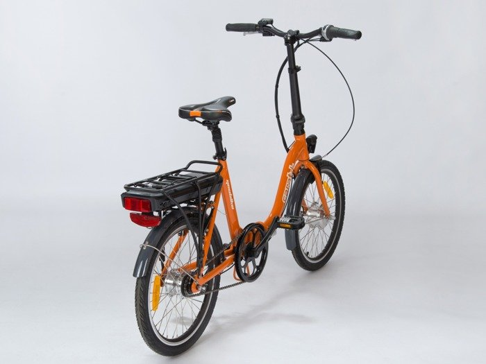 electric folding bicycle GEOBIKE Carat+ / battery 10.4 Ah
