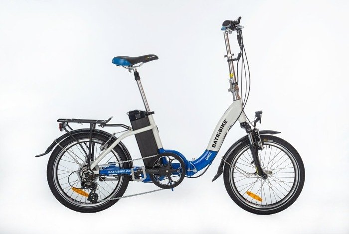 electric folding bicycle GEOBIKE Carat+ / battery 8.8 Ah