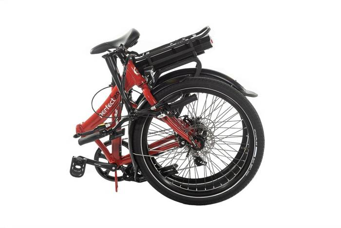 electric folding bicycle GEOBIKE Perfect 2.0 / battery 13 Ah 36V