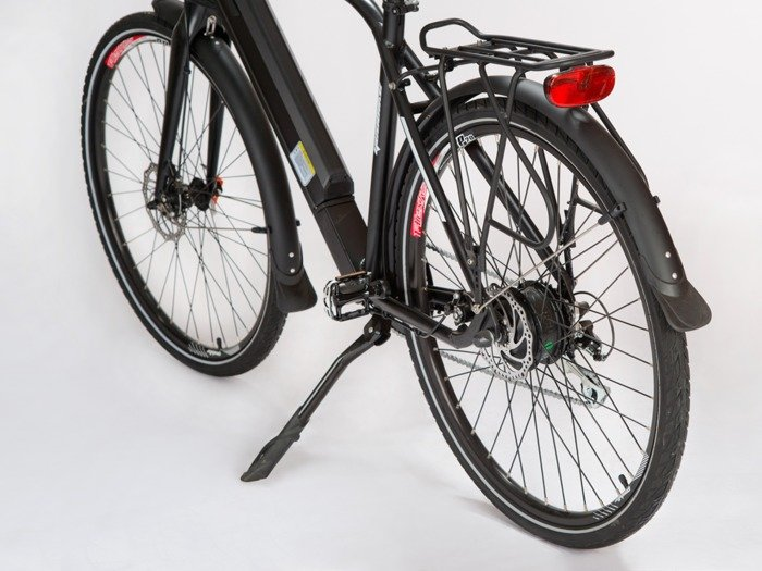 electric road bicycle GEOBIKE X-Road 2.0 A / battery 13 Ah (front suspension)