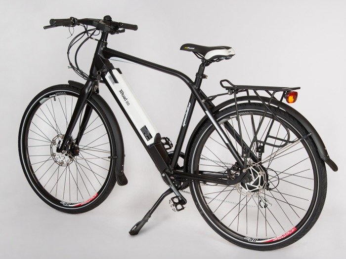 electric road bicycle GEOBIKE X-Road 2.0 S / battery 10.4 Ah