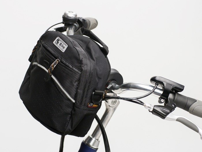 handlebar bag E-BIKE CITY / red