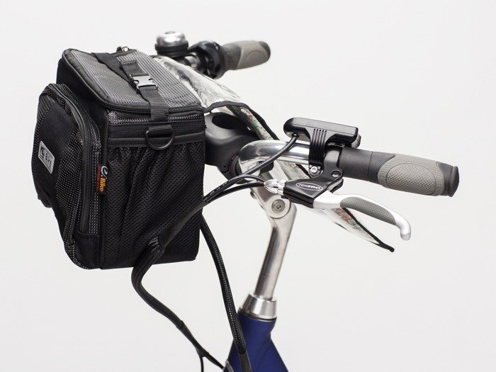 handlebar bag E-BIKE NORDKAPP / black