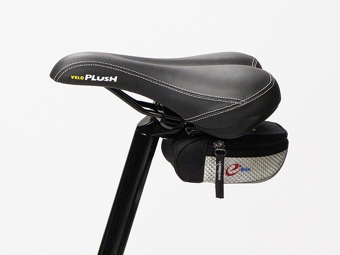 saddle bag E-BIKE SPORT / black and red