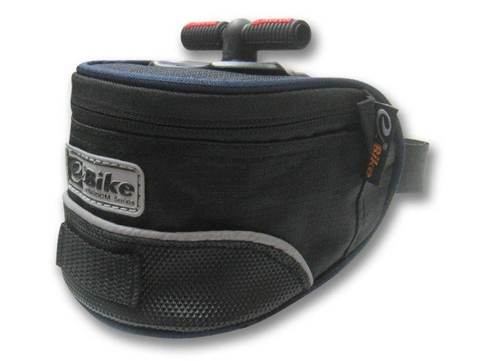 saddle bag E-BIKE / black and navy