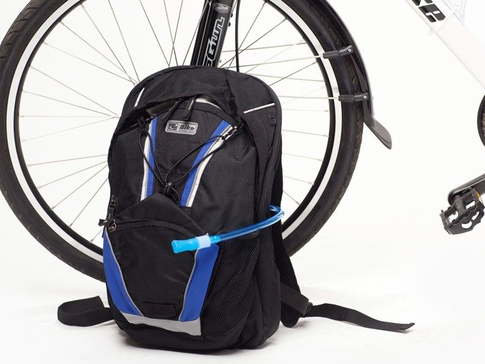 water bladder E-BIKE Camel Bag  / blue