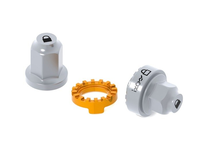 wheel lock IXOW Wheelguard Allure Gravity NUTS 3/8 / orange